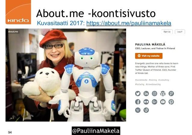 @PauliinaMakela94 About.me -koontisivusto Kuvasitaatti 2017: https://about.me/pauliinamakela