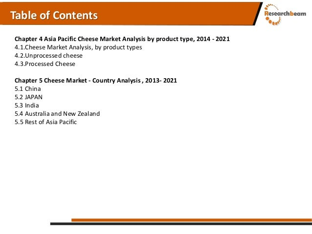 Rare asian cheese market opinion