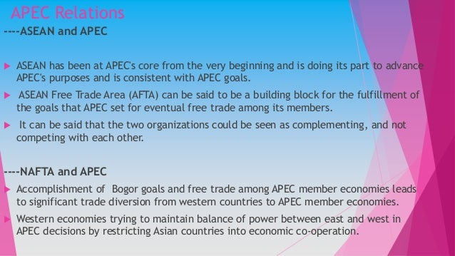 role of the asia pacific economic cooperation apec President donald j trump's participation in the 25th annual asia-pacific economic cooperation (apec) economic leaders' meeting and 2017 apec ceo summit president trump and other apec leaders underlined apec's crucial role in support of a trading system that is free and open, but also fair.