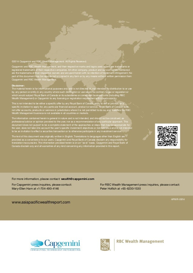 Asia-Pacific Wealth Report 2014