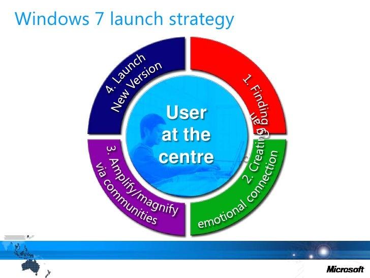 40,000 hours of Windows 7 usage logged from user research trials</li></li></ul><li>Proactive Blogger Outreach<br />