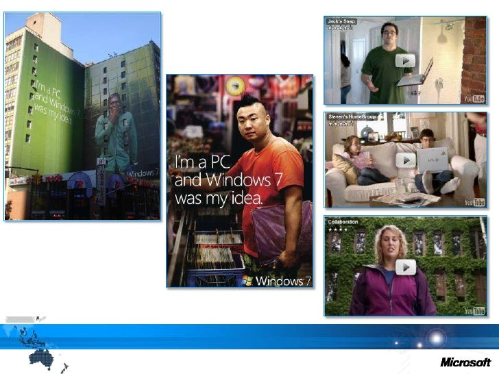 Windows 7 launch strategy<br />1. Finding Our Voice<br />4. LaunchNew Version<br />User at the centre<br />2. Creating an...