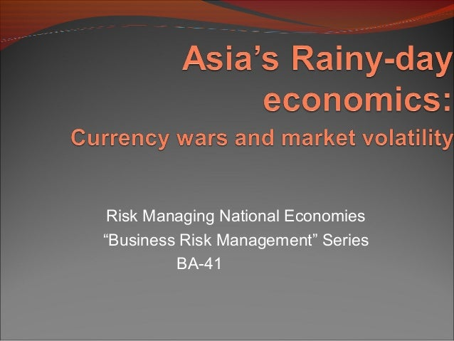 "Risk Managing National Economies ""Business Risk Management"" Series BA-41"