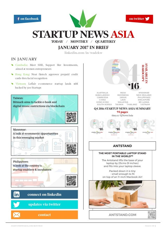 page 1 of 5startupnewsasia.com/monthly in january E Cambodia: Meet SHE, Support Her Investments, aimed at women entreprene...