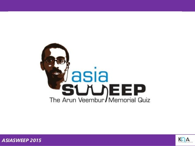 ASIASWEEP 2015