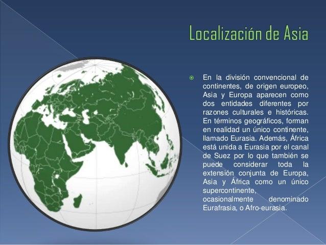 Generalidades De Los Continentes: Características Generales Del Continente Asiático