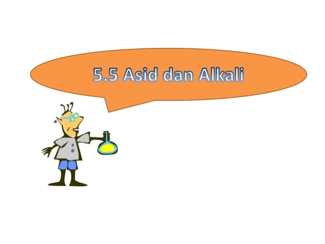 Asid dan alkali merupakan larutan Hanya menunjukkan sifat masing- masing apabila dilarutkan dalam air Kertas pH digunakan ...