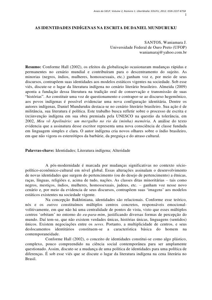 Anais do SIELP. Volume 2, Número 1. Uberlândia: EDUFU, 2012. ISSN 2237-8758                                               ...