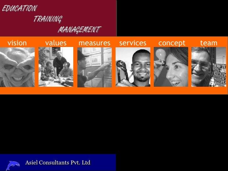 EDUCATION         TRAINING                MANAGEMENT  vision      values        measures   services   concept   team      ...