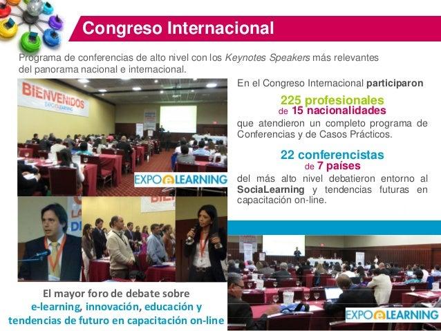 Así fue EXPOELEARNING Bogotá 2013 Slide 3