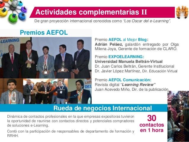 Feria Profesional Por cuarto año en América latina se realizó una Feria de capacitación virtual y dirección de personas. F...