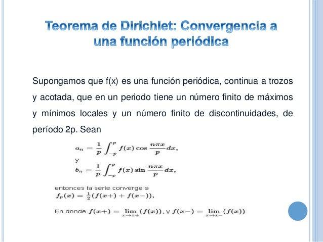  Funciones periódicas  Serie trigonométrica de Fourier  Componentes de directas, fundamental y armónicos  Ortogonalida...