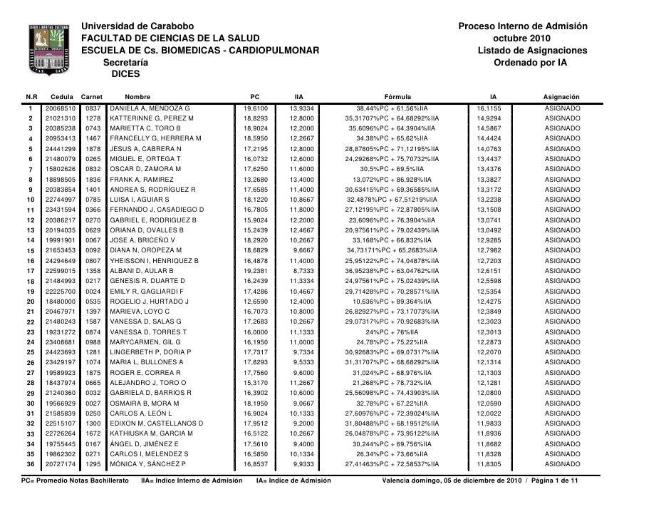 Universidad de Carabobo                                                                                        Proceso Int...