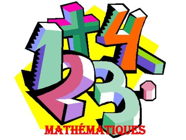 mathématiques