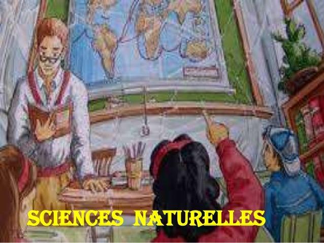 SCIENCES NATURELLES