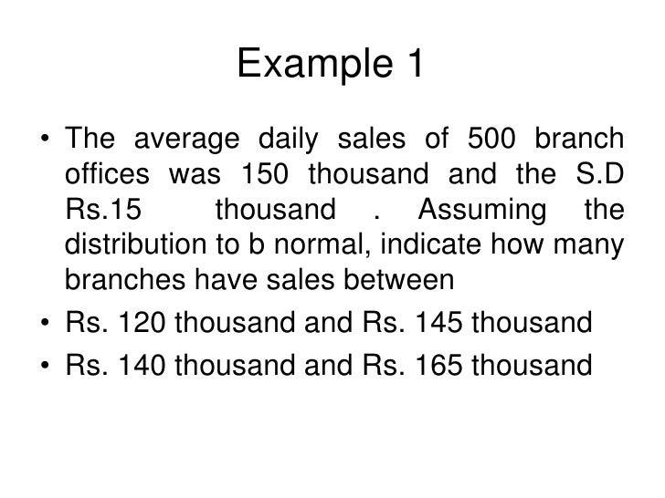 normal distribution problems Slide 2