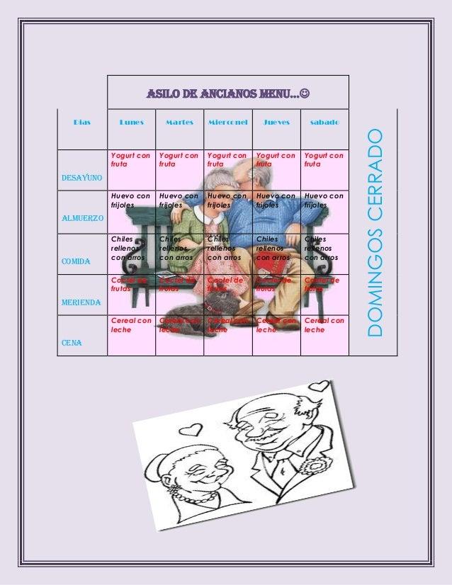 Pdf asilo de ancianos menu examen for Asilo de ancianos pdf