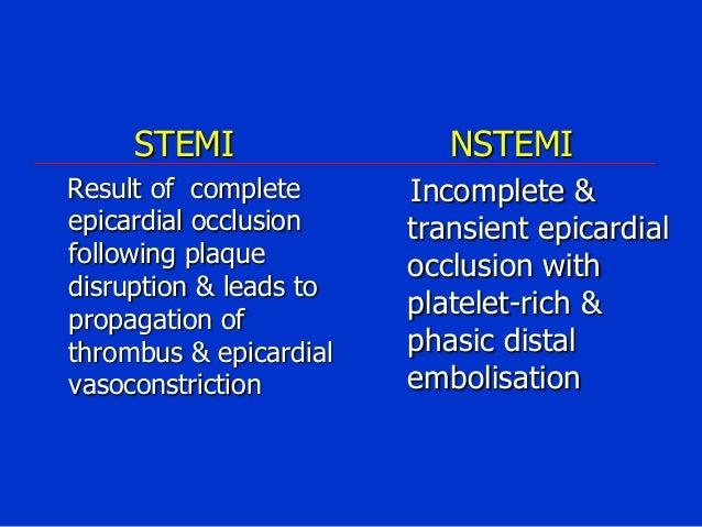 Acute Coronary Syndrome (NSTEMI)