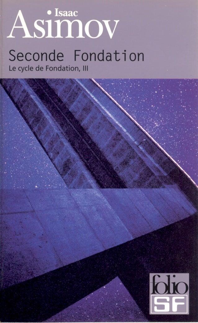 Asimov   3-seconde fondation