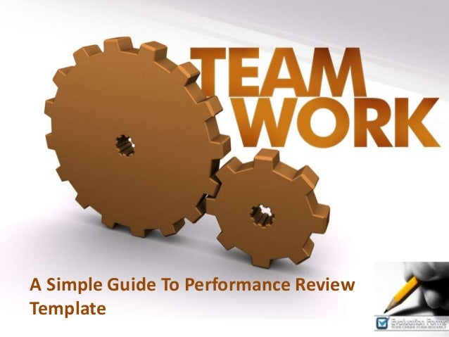 A Simple Guide To Performance Review Template