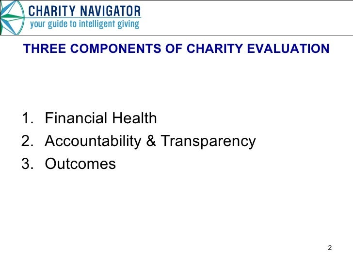 Link To Us : Charity Navigatorcharity Evaluation. Job Performance
