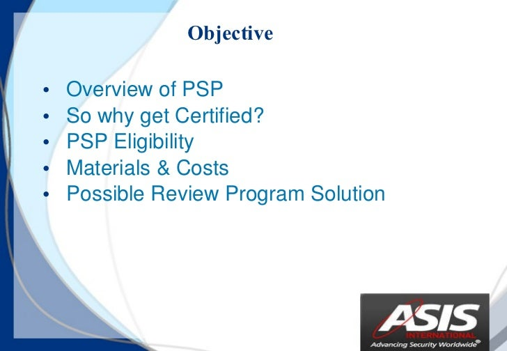 ASIS PSP exam dumps | Real PSP Questions - killexams.com