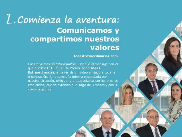 Construyamos un futuro juntos. Este fue el mensaje con el que nuestro CEO, el Dr. De Porres, abrió Ideas Extraordinarias, ...