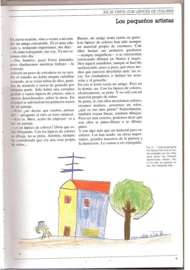 Así se pinta con lápices de colores (José María Parramón)