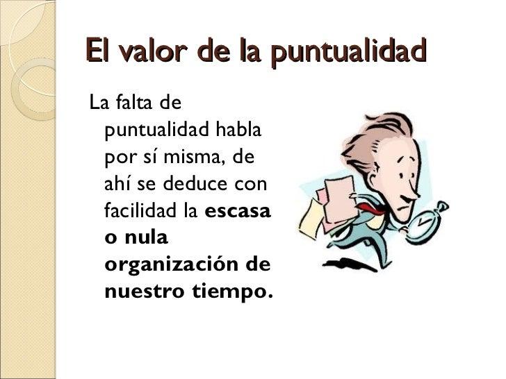 EL VALOR DE LA PUNTUALIDAD DOWNLOAD