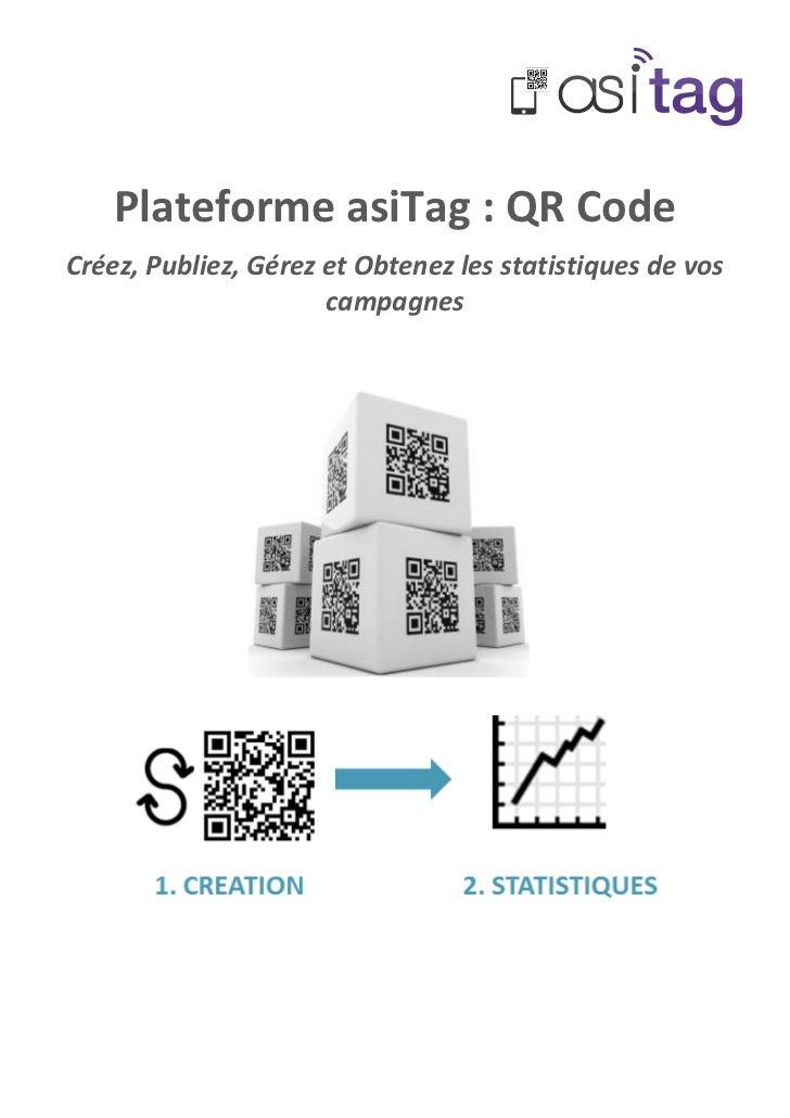 asitag  plateforme web de g u00e9n u00e9ration et de gestion de qr codes