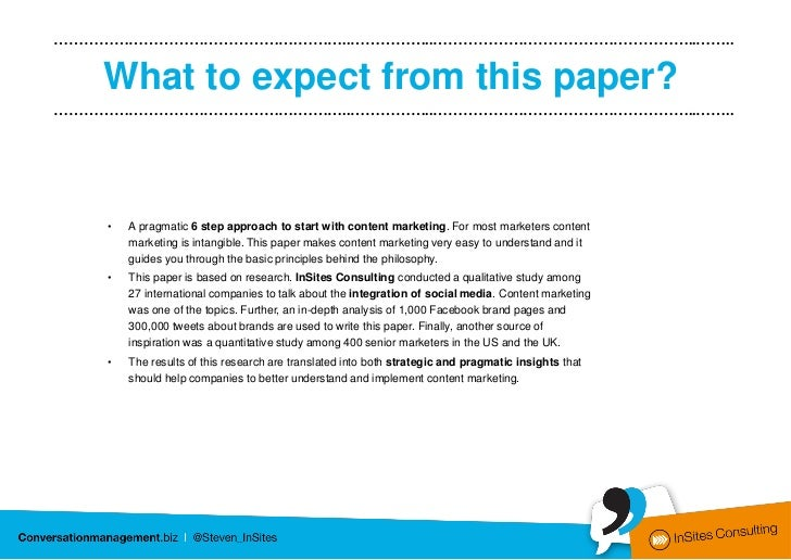 A six step content marketing model Slide 2