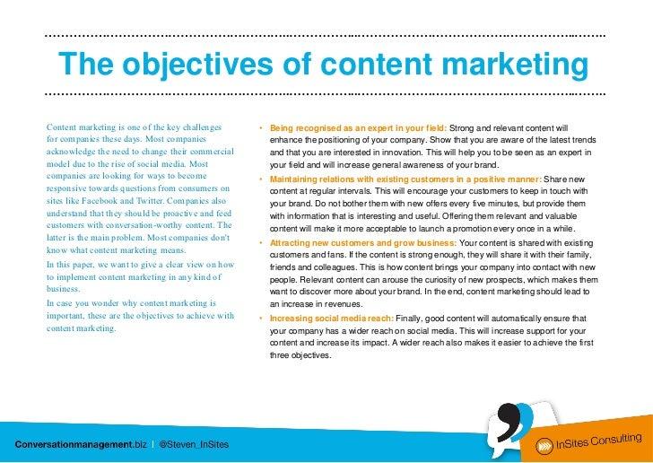A six step content marketing model Slide 3