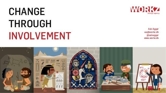 CHANGE THROUGH INVOLVEMENT Ask Agger aa@workz.dk @askagger www.workz.dk
