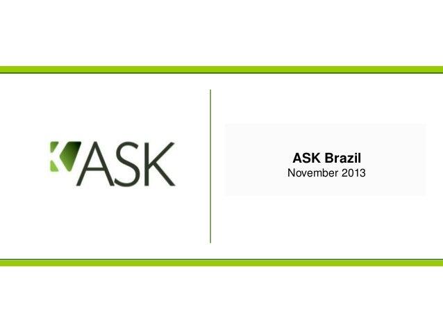 ASK Brazil November 2013