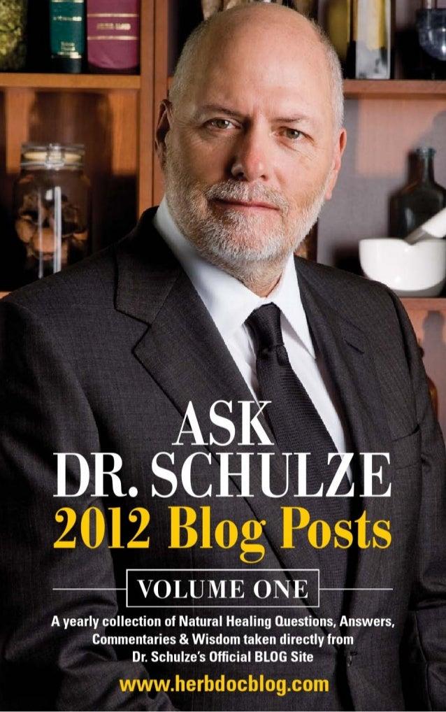 Ask dr. schultz vol 1