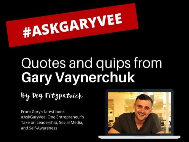 #AskGaryVee Book on Leadership, Social Media, and Life.