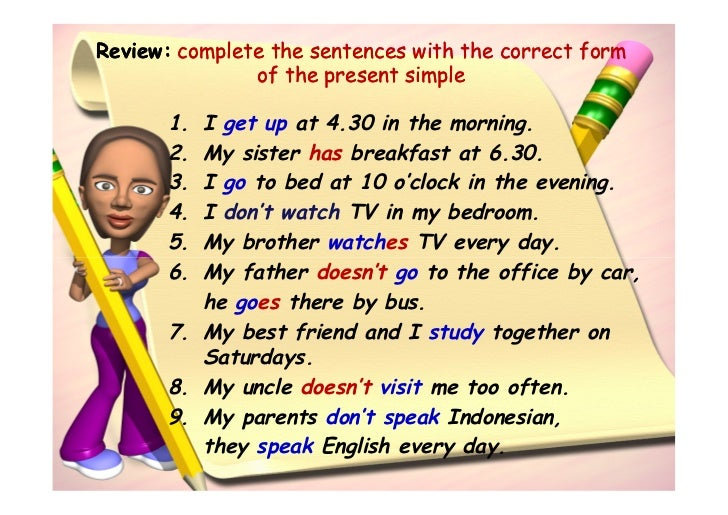 Asking About Daily Activities Simple Present Tense