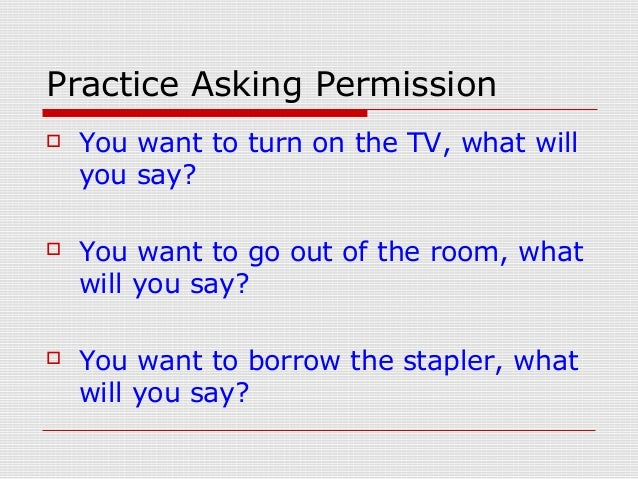 """Learn to Use """"Can"""" for Permission and Requests in English ..."""