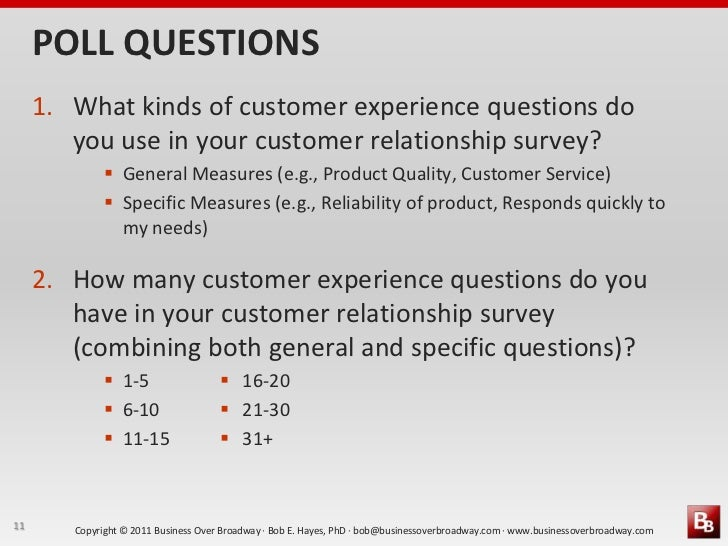 customer relations questions