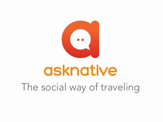 The social way of traveling