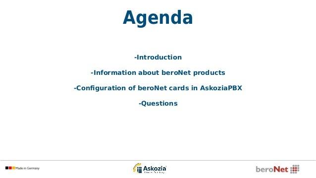Askozia and beroNet - webinar 2015, English Slide 3