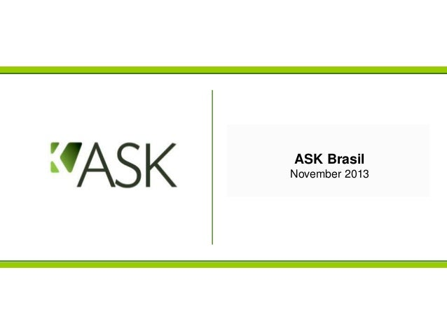 ASK Brasil November 2013