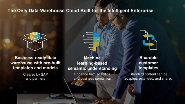 30PUBLIC© 2019 SAP SE or an SAP affiliate company. All rights reserved. ǀ The Only Data Warehouse Cloud Built for the Inte...