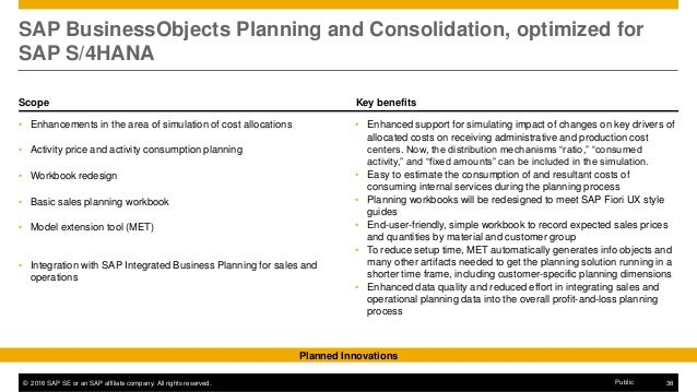 BPC420 SAP Business Planning and Consolidation
