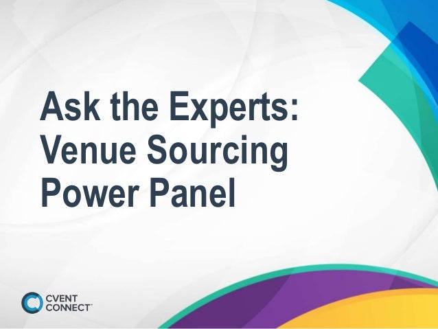 Ask the Experts: Venue Sourcing Power Panel