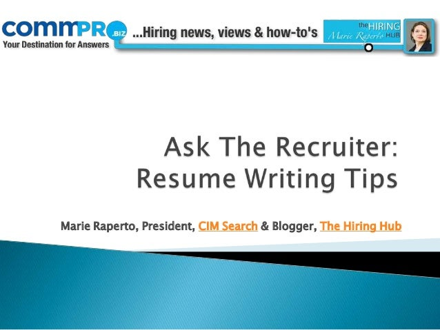 ask resume writer