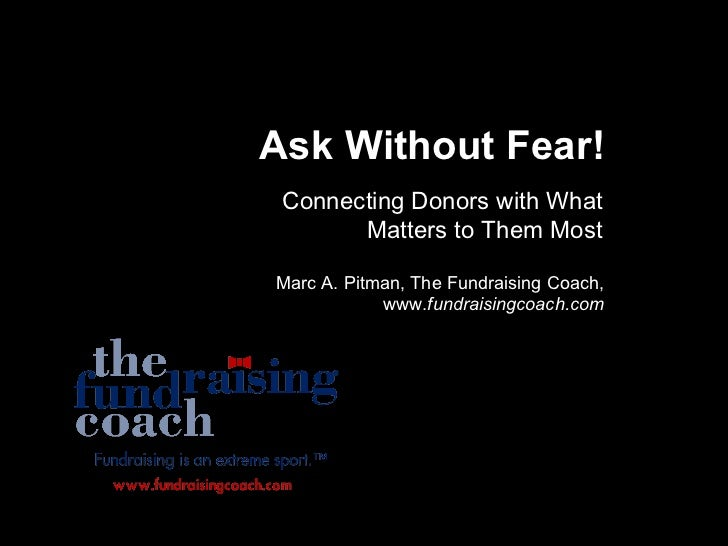 Extreme Fundraising for Christian Causes Connecting Donors with What Matters to Them Most Marc A. Pitman, The Fundraising ...