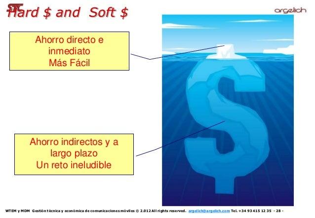 Hard $ and Soft $               Ahorro directo e                 inmediato                 Más Fácil            Ahorro ind...