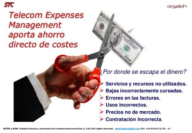 Telecom Expenses    Management    aporta ahorro    directo de costes                                                      ...