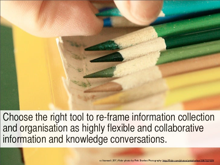 ?Re-think what 'collection' of information means,thereby supporting personalized and collaborativeinformation seeking and ...